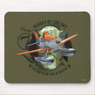 Heroes Of The Sky - Dusty Mouse Pad