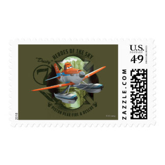 Heroes Of The Sky - Dusty Postage Stamp