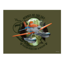 Heroes Of The Sky - Dusty Postcard