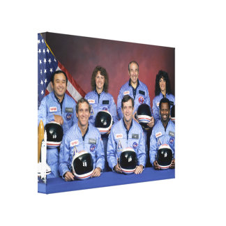 Heroes Of The Space Shuttle Challenger Disaster Canvas Print