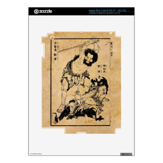 Heroes of the Suikoden (by Hokusai) iPad 3 Decals