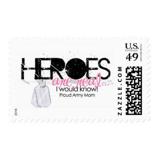 Heroes Postage Stamp