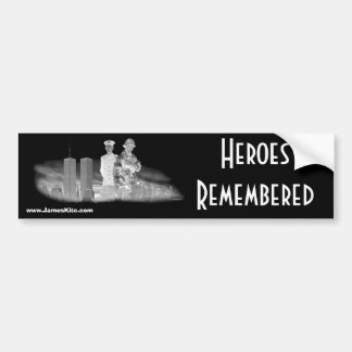 Heroes Remembered Bumper Sticker