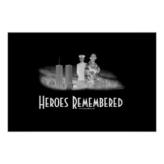 Heroes Remembered Poster