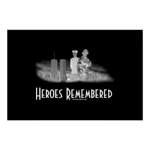 Heroes Remembered Posters
