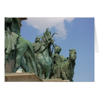 Heroes' Square, Budapest Card