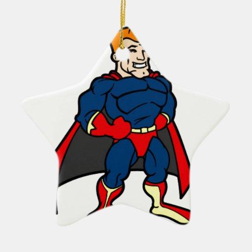 Heroi Adorno De Cerámica En Forma De Estrella