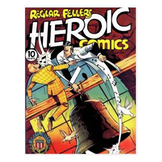 Heroic Comics 15 Postcard