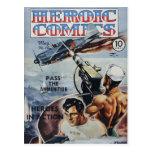 Heroic Comics Postcard