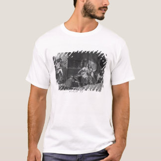 Heroic courage of a woman facing Vendean robbers T-Shirt
