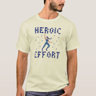 Heroic Effort Pixel Art T-Shirt