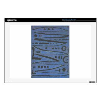 Heroic Fiddling by Paul Klee Laptop Decal