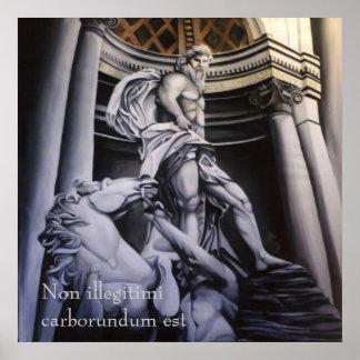 Heroic Greek/Roman Scene poster