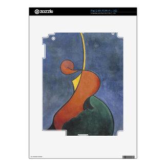 Heroic movement by Theo van Doesburg iPad 2 Decal