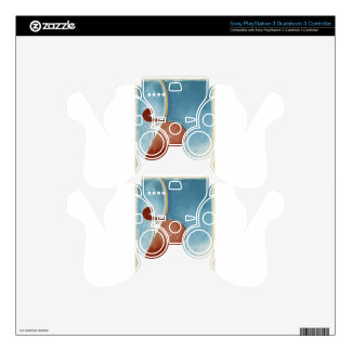 Heroic movement by Theo van Doesburg PS3 Controller Decal