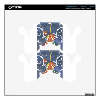 Heroic movement by Theo van Doesburg PS3 Controller Decals