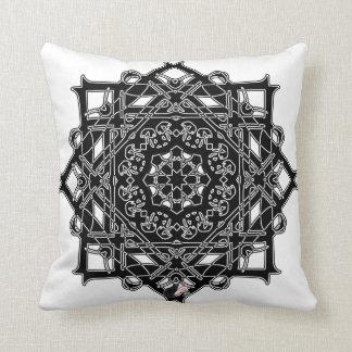 Heroic Octa Glyph Pillow