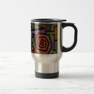 Heroic Roses by Paul Klee Travel Mug