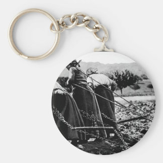 Heroic Women of France.  Hitched_War image Keychain