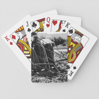 Heroic Women of France.  Hitched_War image Playing Cards
