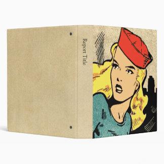"Heroína del cómic en Red Hat Carpeta 1"""