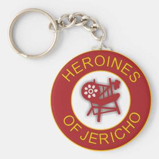 Heroínas de Jericó Llavero Redondo Tipo Pin