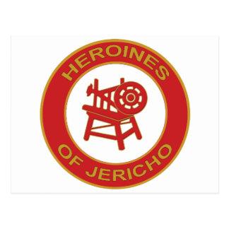 Heroínas de Jericó Tarjeta Postal