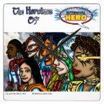 Heroínas del héroe interno reloj