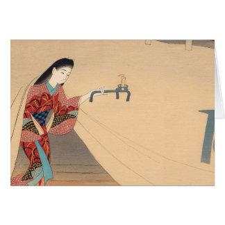 Heroine Toragozin Ishikawa Toraji japanese lady Card