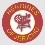 Heroines of Jericho Classic Round Sticker
