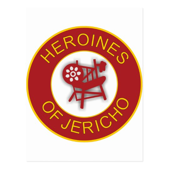 Heroines of Jericho Postcard