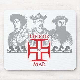 Herois do mar mousepad