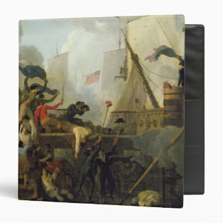 Heroism of the Crew of 'Le Vengeur du Peuple' 3 Ring Binder