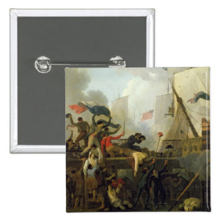 Heroism of the Crew of 'Le Vengeur du Peuple' Button