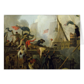 Heroism of the Crew of 'Le Vengeur du Peuple' Greeting Card
