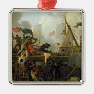 Heroism of the Crew of 'Le Vengeur du Peuple' Metal Ornament