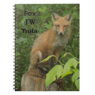 herokee Fox Beautiful Photo Notebook