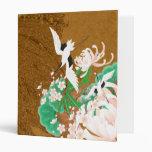 Heron and Dahlia - Japanese Design Binder