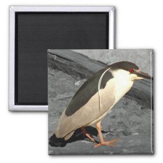 Heron at Lake Merritt - Magnet