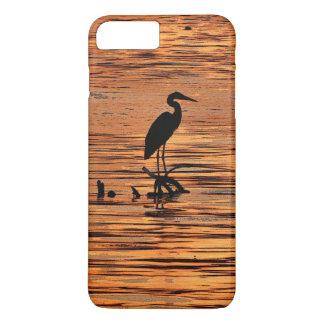 Heron at Sunset iPhone 7 Plus Case