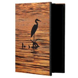 Heron at Sunset Powis iPad Air 2 Case