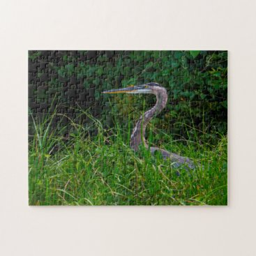 Heron Beach Florida. Jigsaw Puzzle