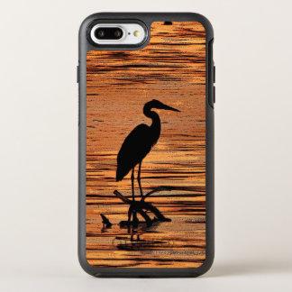 Heron Bird at Sunset OtterBox Symmetry iPhone 7 Plus Case