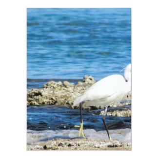 Heron bird wings custom personalize Anniversaries Card