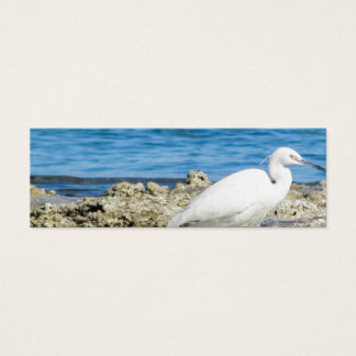 Heron bird wings custom personalize Anniversaries Mini Business Card