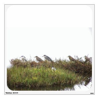 Heron Birds Wall Decal