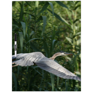Heron Birds Wildlife Animals Dry Erase Board
