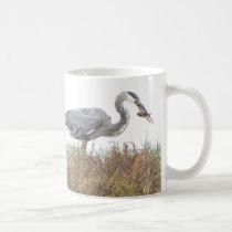 Heron Birds Wildlife Animals Wetlands Coffee Mug