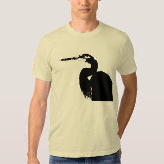 Heron Birds Wildlife Animals Wetlands T-Shirt