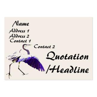 Heron Business Card
